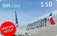 AMERICAN AIRLINES GIFT CARD $ 50 USD | Save Big On Your Flight | Fast Delivery