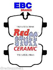 BMW M5 F10 F18 REAR BRAKE PADS EBC RED STUFF (CERAMIC) MADE IN UK