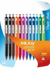 PACK 3 BOLIGRAFOS PAPERMATE INKJOY 300RT (AZUL, NEGRO Y ROJO)