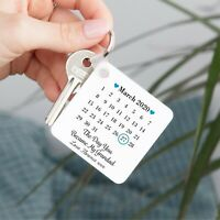 Personalised Day You Became My Grandpa Keyring