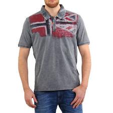 Camisas y polos de hombre grises Napapijri
