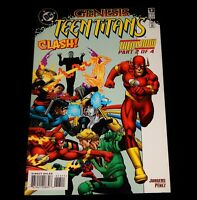 Vintage Comic Book, DC COMICS, GENESIS TEEN TITANS: THEN & NOW, # 2 Of 4, 1997