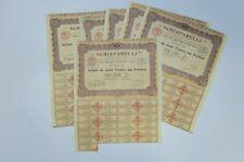 SCHIAPARELLI HAUTE COUTURE PARFUMS ACTION DE 100 FRANCS 1930 X 20 ACTIONS