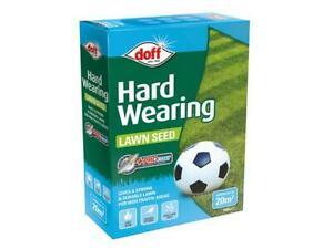 Doff Hard Wearing Lawn Seed Strong Durable +PROCOAT - 500g or 1Kg