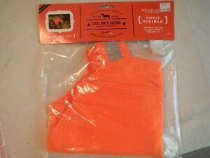 Dog Not Gone - Blaze Orange - Dog Safety Vest  - Size 38W