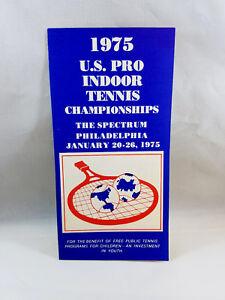 US Pro Indoor Tennis Championships 1975 Philadelphia The Spectrum Advertisement
