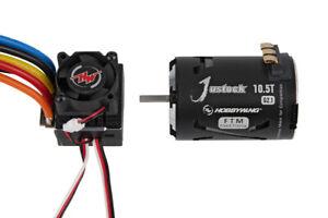 Hobbywing Xerun Justock Combo G2.1 + 10.5T 4000kv  Motor für 1:10 Stock, Drift