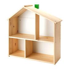 Flisat DOLL'S PLAY HOUSE Books Foto Muro Mensola, Kids Room, Legno Massello, multi uso
