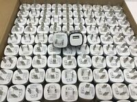 100x Black 1A USB Power Adapter AC Home Wall Charger US Plug FOR iPhone 5 6 7 X