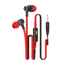 Headphones Earphones In-Ear for Samsung iPhone 6S 6 Plus 5S SE iPod Microphone