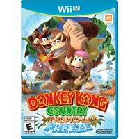 Donkey Kong Country Tropical Freeze For Wii U Very Good 3E