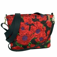 "Donna Sharp ""Red Poppy"" JENNA Handbag 13"" x 9"" x 4"" NWT"