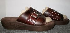 NEW DURANGO BROWN LEATHER SANDALS WOMEN'S SIZE 8 M! NO RESERVE!