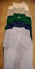 Boys School Uniform Shirts Lot Of 6 Size 14/16