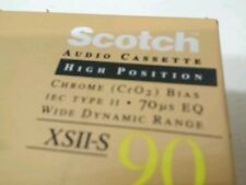 Scotch by 3M XSII-S 90   Type II Audio Cassette  Tapes New