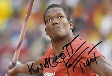 KESHORN WALCOTT *TTN* > 1. Olympics 2012 / ATH - sign. Foto