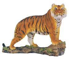 """7.5"""" Bengal Tiger Statue Figurine Safari Wildlife Wild Cat Animal Figure Nature"""