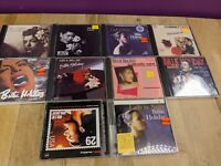 (10) CD Lot of Billy Holiday Bundle Lady in Satin Tenderly Billies Blues