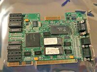 RARE VINTAGE ATI VGA WONDER XL ATI 28800-5  512K ISA VGA CARD FCC EXMVGAXLV1 USA