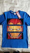 BNWT F&F Marvel Avengers Iron Man t-shirt age 9-10 years, super hero,
