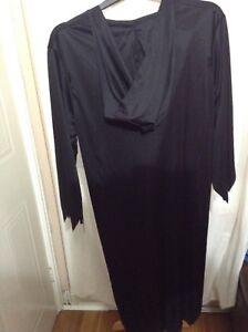 Adults grim reaper Halloween fancy dress outfit size medium / large bnwot