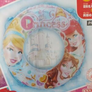 Disney Princess Inflatable Swim Ring Pool Toy Float Japanese Blow Up Rare