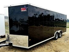 8.5'x20' Enclosed Trailer Cargo ATV Motorcycle Utility 20 Box Trailers VNose New