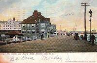Postcard Casino and Boardwalk Atlantic City NJ 1905
