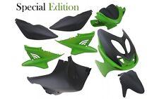 Verkleidung Verkleidungsset 10 Teilig in Schwarz Grün für Yamaha Aerox MBK Nitro