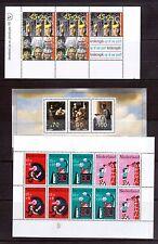 NETHERLANDS nine min sheets 1960-90 MUH