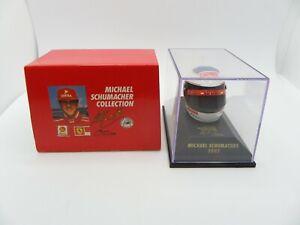 Helmet Michael Schumacher 1997 Ferrari MINICHAMPS 1/8 F1 Helmet Formula 1