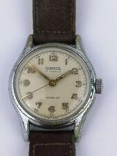 """Rare Consul Waterproof Mens Vintage Watch with """"Venus"""" Branded Crown (D70)"""