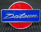 CAR BADGE - DATSUN Vintage  Handwriting grill badge emblem enamel logo JDM