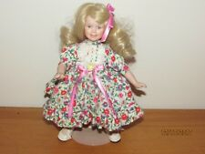 "Goebel Doll Club Porcelain doll, By: Bette Ball, 9"",Little darling Free shipping"