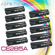 10P For HP LaserJet P1102w M1132 M1217nfw CE285A 85A Laser Black Toner Cartridge