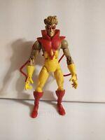 Marvel Legends Series - Pyro figure LOOSE - X-MEN Toy Biz Onslaught Baf Wave