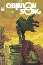 OBLIVION SONG BY KIRKMAN  #1 IMAGE COMIC BOOK 2018 PINK SIGNATURE VARIANT