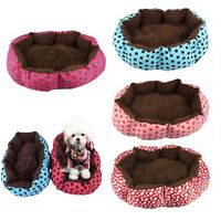 Soft Flannel Pet Dog Puppy Cat Kitten Warm Bed House Warm Cozy Nest Mat Pad