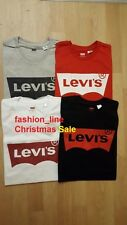 Brand New Men's Levi's Graphic Solid Logo  Cotton T Shirt All sizes S-XXL