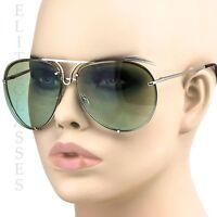 Aviator Sunglasses VINTAGE Gradient Lens Men Women Fashion Style Retro Frame NEW