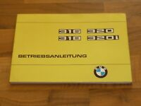 BMW 3er E21 BJ 1975 316 318 320 320i Betriebsanleitung Bedienungsanleitung