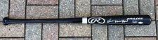 PSA/DNA Yankees ESTEVAN FLORIAL Signed Autographed Black Baseball Bat FULL SIG