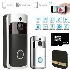 Smart WiFi Wireless Video Doorbell Two-Way Talk Door Bell Security Camera HD