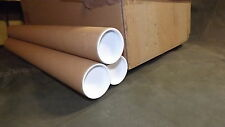 Postal tube.61cm long.2 inch diameter.25 Boxed.Clearance.