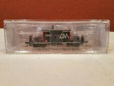 N SCALE BLUEFORD #24120 TRANSFER CABOOSE SHORT ROOF CENTRAL MICHIGAN RD #CMGN 1