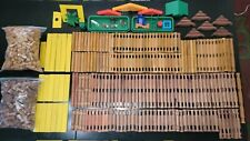 643 Pcs Mixed Lot Lincoln Logs Lot
