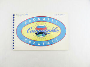 Campagnolo catalog #16 Record Gran Sport 1970 NM/MINT Nicest Ive seen NOS