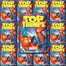Top Trumps Single Cards Marvel Comic Cartoon Characters Various (FB3)