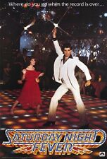 "SATURDAY NIGHT FEVER Movie Poster [Licensed-NEW-USA] 27x40"" Theater Size"