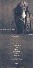 """Patti Smith """"Gone again"""" Geniales Comeback 1996! Progressive Rock! Nagelneue CD!"""
